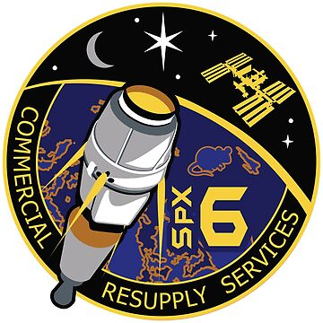 SpaceX CRS-6 by ThievingPanda