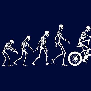 Evolution BMX Skeletons by zomboy