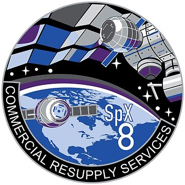 SpaceX CRS-8 by ThievingPanda