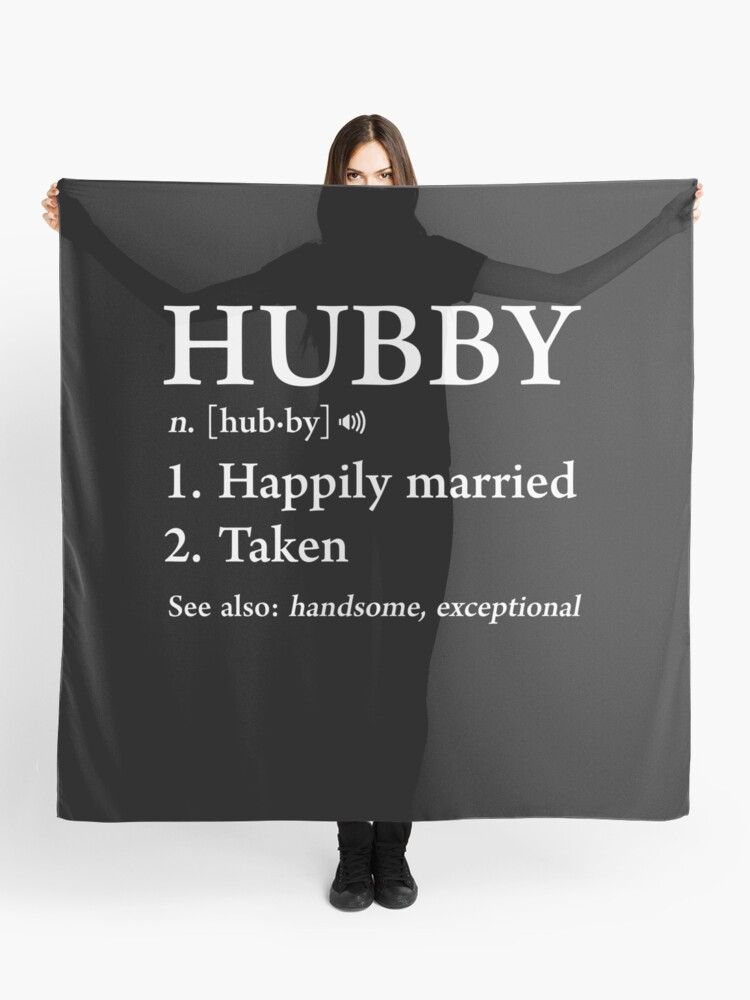 6f46a0d30cf Hubby Definition Funny Father's Day Gift For Cool Husband Dad