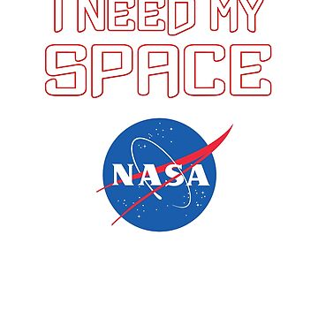 I need my space NASA official logo gift by Val-Universe