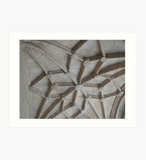 In the cloisters Art Print