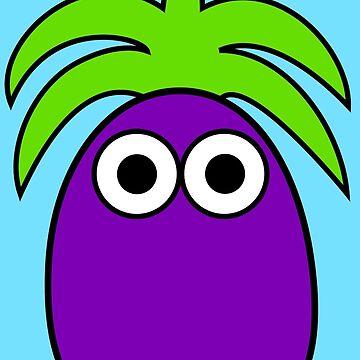 Eggplant by Inkerbelle