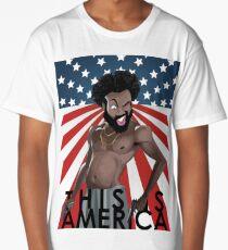 This is america Childish Gambino Long T-Shirt