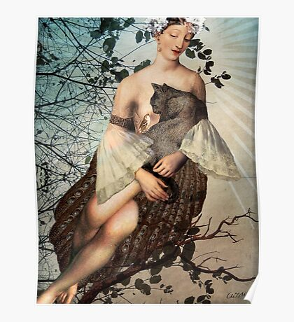 Madonna of the tree Poster