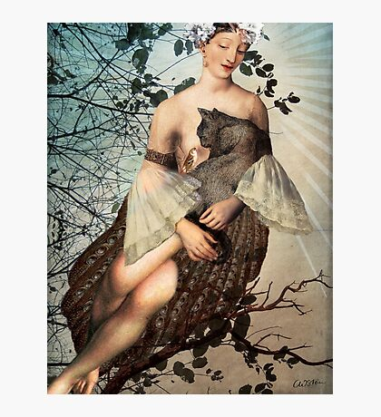 Madonna of the tree Photographic Print