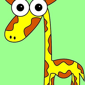 Giraffe by Inkerbelle