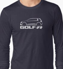 VW Golf R silhouette White T-Shirt