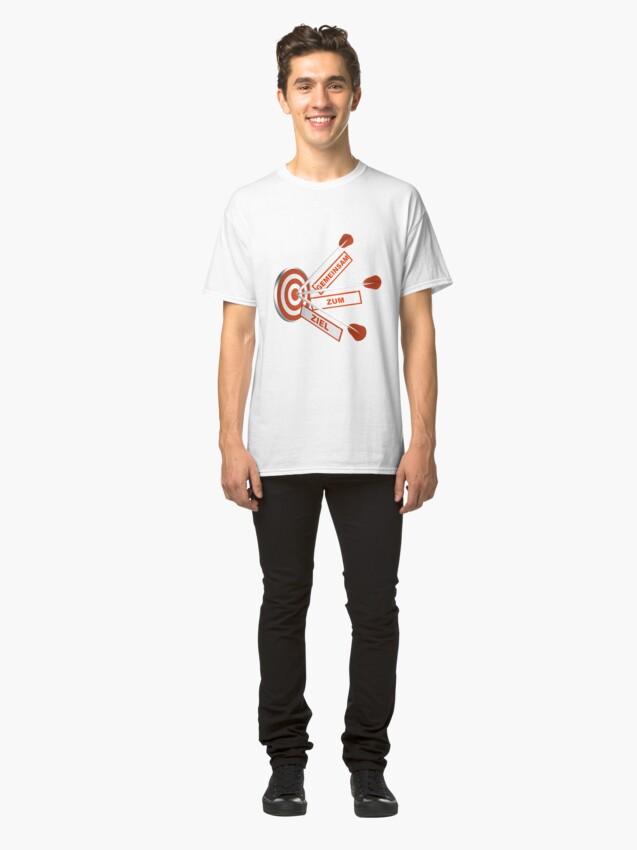 Alternative Ansicht von Gemeinsam zum Ziel Classic T-Shirt