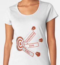 Gemeinsam zum Ziel Premium Rundhals-Shirt