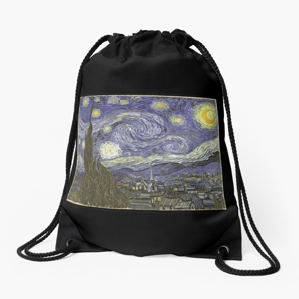Van Goh Starry Night Turnbeutel
