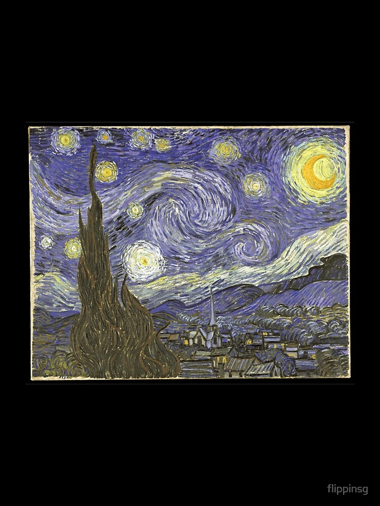 Van Goh Starry Night von flippinsg