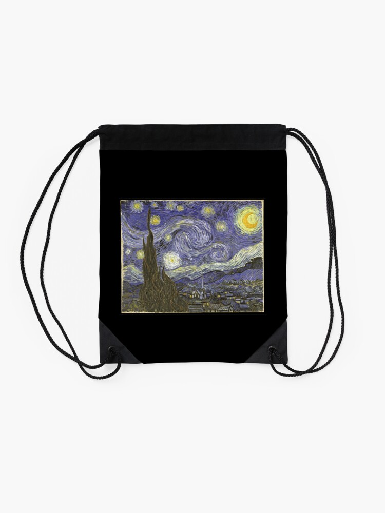 Alternative Ansicht von Van Goh Starry Night Turnbeutel