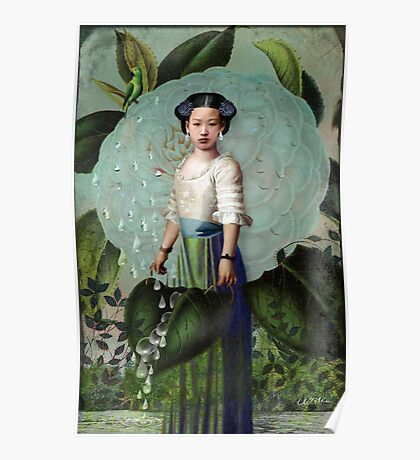 Morning Dew Girl Poster