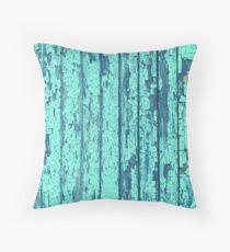 beach summer mermiad blue teal green turquoise  Throw Pillow