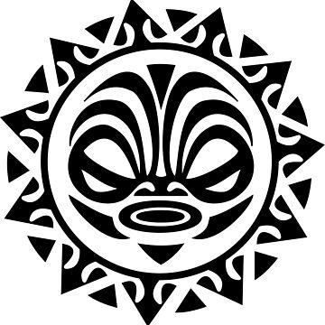 Tribal Sun by uredian