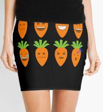 Carrot Emojis Mini Skirt