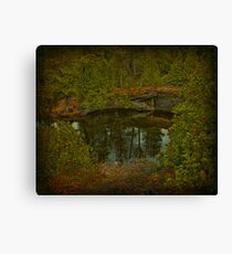 Narcissus Mirror Canvas Print