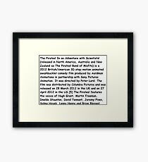 Wikipedia Framed Print