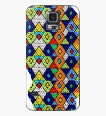 Zulu Beads in Shape of Africa  Case/Skin for Samsung Galaxy