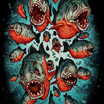 Frenzy Piranhas by Villainmazk