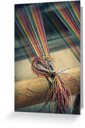 Weaving II by Caroline Fournier