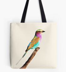 Colourful Lilac-breasted Roller Tote Bag