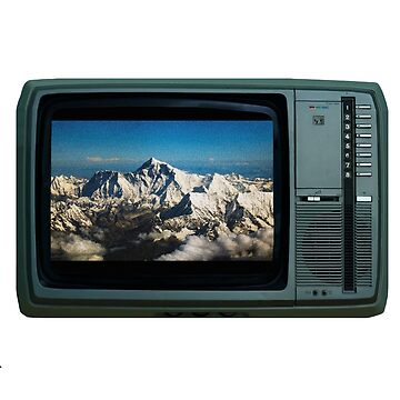 Vintage TV Everest by OceanWolffe