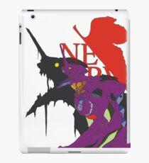 Evangelion 01 Nerv iPad Case/Skin