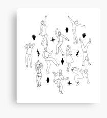 Dance Party Canvas Print
