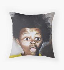 BuckWheaT Throw Pillow