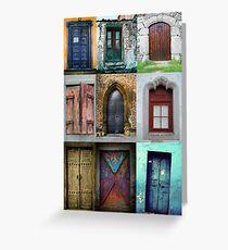 doors Greeting Card