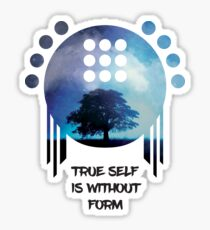 True Self is Without form Sticker