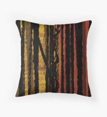 VISION THRU TREES Throw Pillow