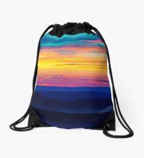 Sunset in the Black Hills Drawstring Bag