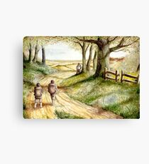 Three is Company Canvas Print