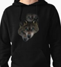 Brave Lone Wolves Pullover Hoodie