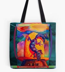 Lizard Wizard Tote Bag