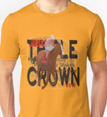 Justify Triple Crown 2018 Horse Racing Unisex T-Shirt
