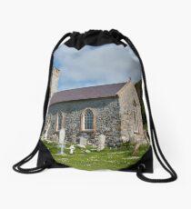 St. Thomas's Church on Rathlin Island. Drawstring Bag