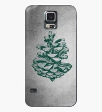 Green Pine Cone Case/Skin for Samsung Galaxy