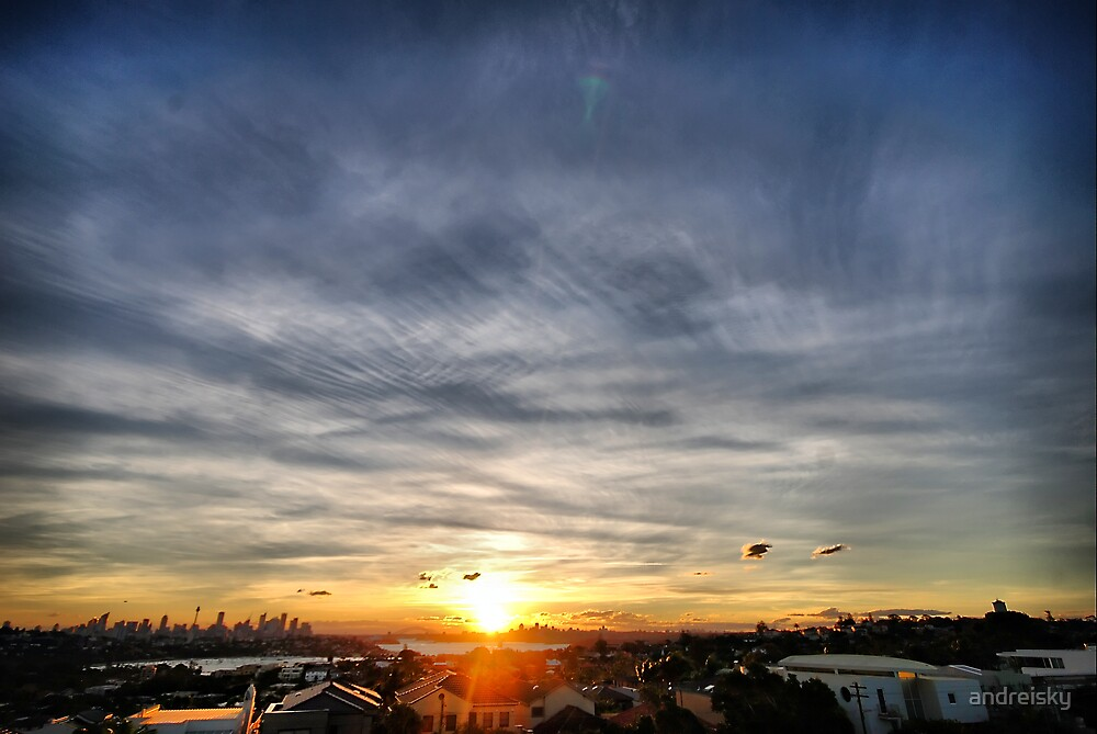 Distorted sunset by andreisky