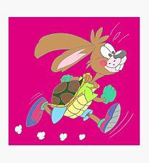 Hare or tortoise Photographic Print