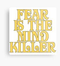 Dune Sticker - Fear is the mind-killer Metal Print