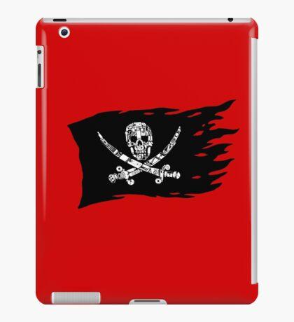 Digital Pirate Jolly Roger iPad Case/Skin
