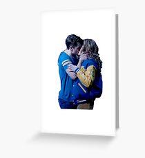 Tarjeta de felicitación Aaron Samuels y Cady Heron