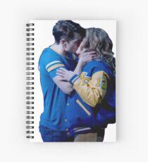 Cuaderno de espiral Aaron Samuels y Cady Heron