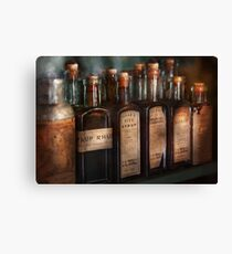 Pharmacy - Syrup Selection  Canvas Print