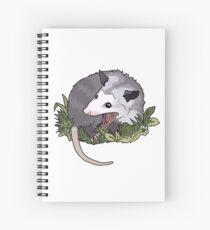 Screaming possum Spiral Notebook