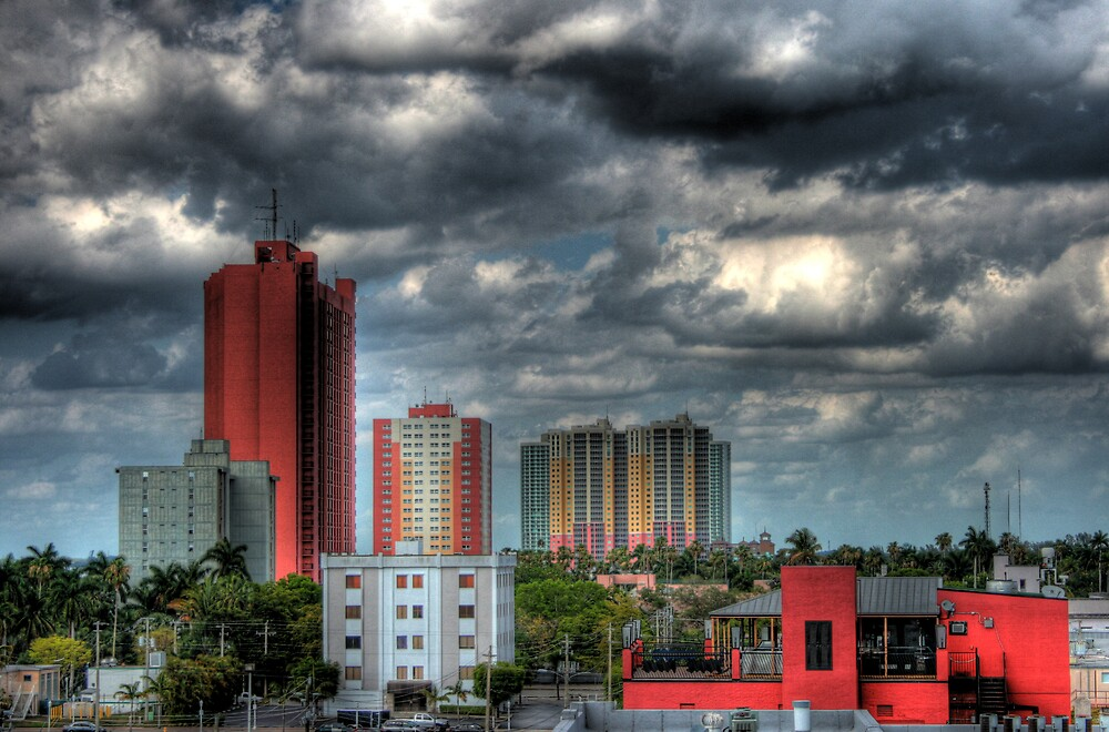 fort_myers_skyline by evtwal